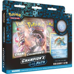 FÖRKÖP: Pokémon, Champion's Path, Pin Collection: Hulbury Gym (Preliminär release 25:e september 2020)
