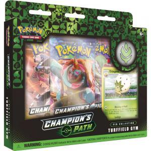 FÖRKÖP: Pokémon, Champion's Path, Pin Collection: Turffield Gym (Preliminär release 25:e september 2020)