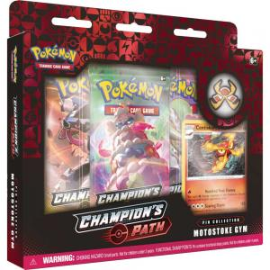 FÖRKÖP: Pokémon, Champion's Path, Pin Collection: Motostoke Gym (Preliminär release 25:e september 2020)