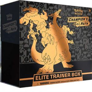 [MAX 10 PER HUSHÅLL] Pokémon, Champion's Path, Elite Trainer Box [MAX 10 PER HUSHÅLL]