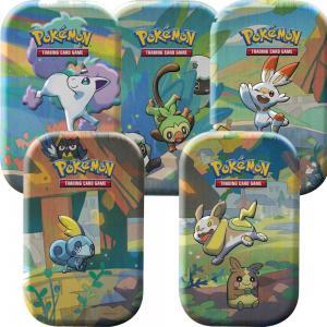 Pokémon, Galar Pals Mini Tin x 5 (De 5 olika sorterna)