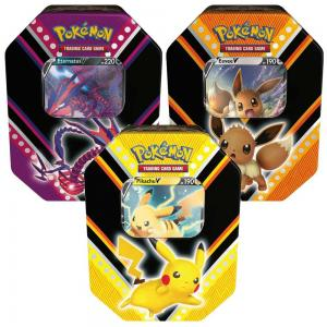 Pokémon, V Powers Tin x 3 (Pikachu V, Eevee V & Eternatus V)