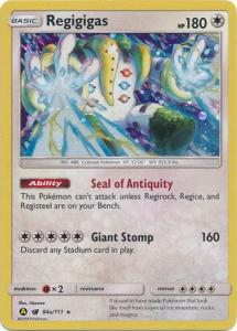 Pokemon  Promo - Regigigas - 84a/111 - Alternate Art Promo