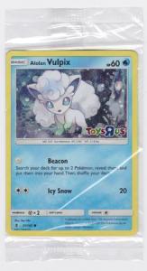 Pokemon Promo - Alolan Vulpix - 21/145 - Sealed Toys R Us Promo