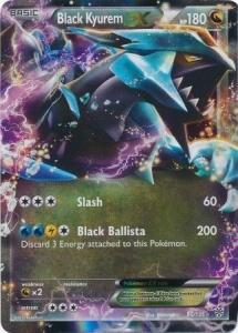 Pokemon B&W 8: Plasma Storm - Black Kyurem EX - 95/135 - Ultra Rare