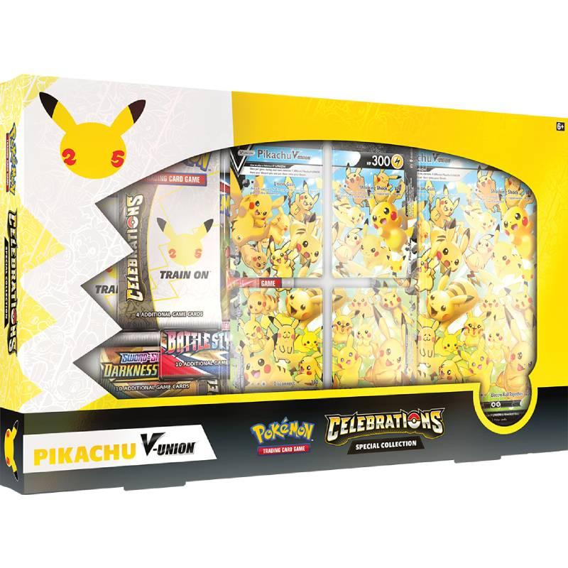 FÖRHANDSVISNING: Pokemon Celebrations Pikachu V-UNION Special Collection (Börjar säljas när mer info finns)
