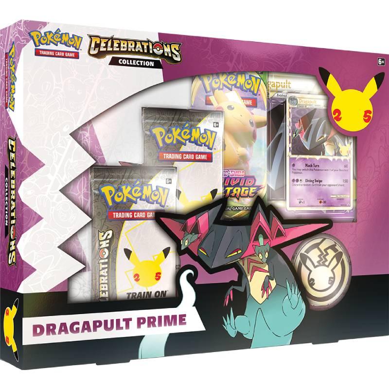 [MAX 6 PER HUSHÅLL] Pokemon Celebrations Dragapult Prime Collection
