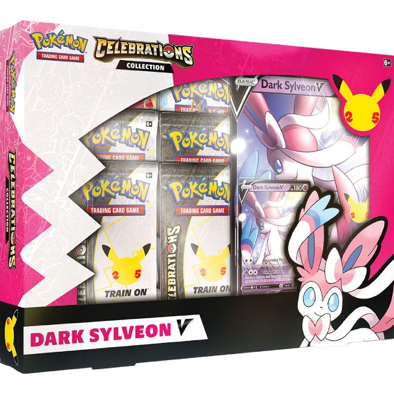 [MAX 2 PER HUSHÅLL] Pokemon Celebrations Dark Sylveon V Collection
