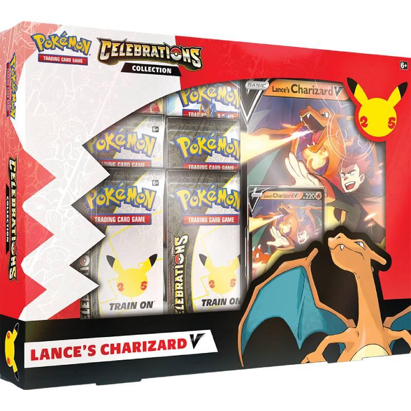 [MAX 1 PER HUSHÅLL] Pokemon Celebrations Lance's Charizard V Collection