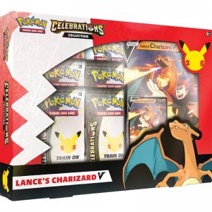 [MAX 1 PER HOUSEHOLD] Pokemon Celebrations Lance's Charizard V Collection