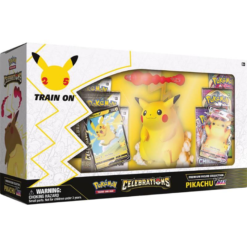[MAX 1 PER HUSHÅLL] Pokemon Celebrations Pikachu VMAX Premium Figure Collection [Notering: Skick på ytterförpackning] (Skickas nu))