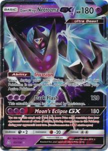 JUMBO Pokemon S&M Promo - Dawn Wings Necrozma GX - 63/156 - JUMBO Promo (Large Card)