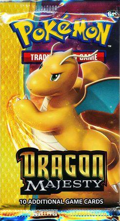 Pokémon, Dragon Majesty, 1 Booster