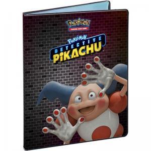 Pokémon, Portfoliopärm A4 (Rymmer 90 kort) Detective Pikachu - Mr.Mime - 9 Pocket