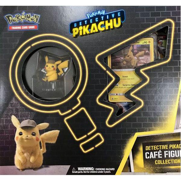 Pokémon, Detective Pikachu Café Figure Collection