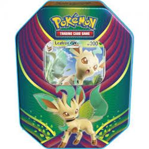 Pokémon, Evolution Celebration Tins, Leafeon-GX