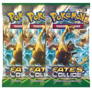 Pokemon, XY Fates Collide, 3 Boosters