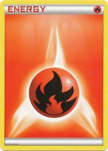 Pokemon - Fire Energy - 2013 Holo Promo