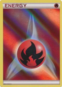 Pokemon Promo - Fire Energy - 2013 Holo Promo