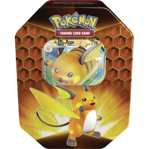 Pokémon, Hidden Fates, Tin - Raichu GX