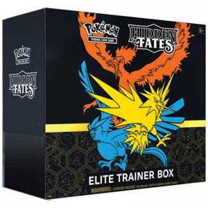 Pokémon, Hidden Fates, Elite Trainer Box