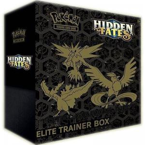 FÖRKÖP: Pokémon, Hidden Fates, Elite Trainer Box (Preliminär release 20:e september 2019)