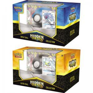 Pokémon, Hidden Fates, Poké Ball Collection x 2 (Shiny Zoroark-GX + Shiny Metagross-GX)