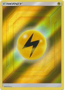 Pokemon S&M: Hidden Fates - Lightning Energy - 2019 - Reverse Holo