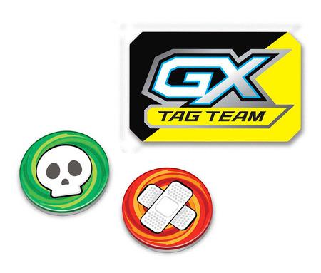 Pokemon Tag Team GX Marker, Damage and Poison Counter (Från Hidden Fates Elite Trainer Box)
