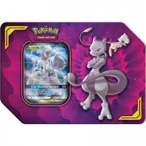 FÖRKÖP: Pokémon, Power Partnership Tin, Mewtwo & Mew-GX (Preliminär release 6:e september 2019)