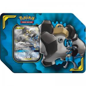FÖRKÖP: Pokémon, Power Partnership Tin, Lucario & Melmetal-GX (Preliminär release 6:e september 2019)