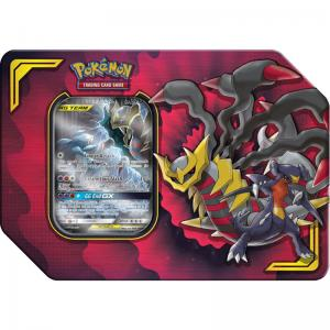 FÖRKÖP: Pokémon, Power Partnership Tin, Garchomp & Giratina-GX (Preliminär release 6:e september 2019)