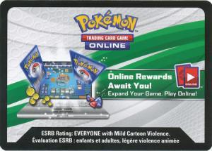Reshiram & Charizard GX Figure Collection Box Pokemon TCG Online Code-Card (Oanvänd kod)