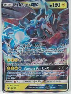Pokemon S&M Promo Zekrom GX - SM138 - Promo