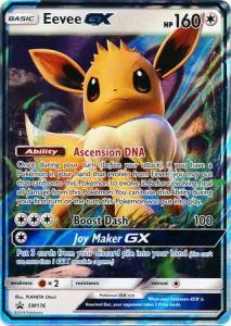 JUMBO Pokemon S&M Promo - Eevee GX - SM176 - JUMBO Promo