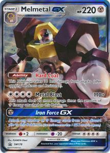 JUMBO Pokemon S&M Promo - Melmetal GX - SM178 - Promo JUMBO (Large card)