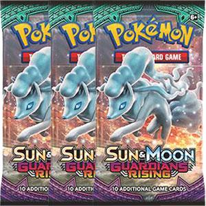 Pokémon, SM Guardians Rising, 3 Boosters