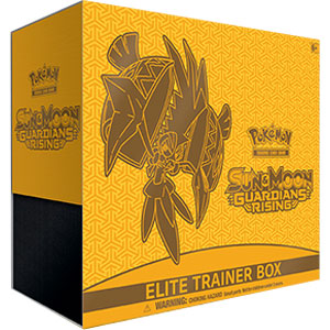 Pokémon, SM Guardians Rising, Elite Trainer Box