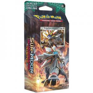 Pokémon, SM Guardians Rising, Theme Deck: Steel Sun, Solgaleo