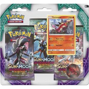Pokémon, SM Guardians Rising, Three pack blister: Turtonator