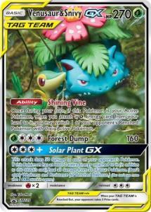 Pokemon S&M - Venusaur & Snivy GX - SM229 - Promo