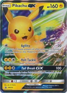 Pokemon S&M - Pikachu GX - SM232 - Holo Promo