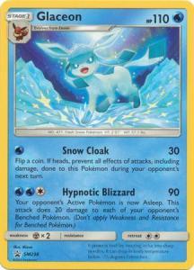 Pokemon S&M Promo - Glaceon - SM238 - Promo