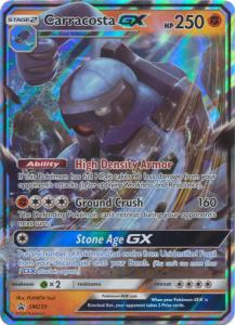 Pokemon S&M Promo - Carracosta GX - SM239 - Promo