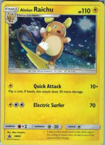 JUMBO, Sun & Moon Promo Cards, Alolan Raichu - SM65 - Holo Promo (Over sized card)