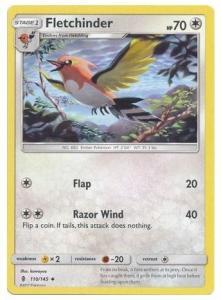SM Guardians Rising, Fletchinder - 110/145 - Uncommon