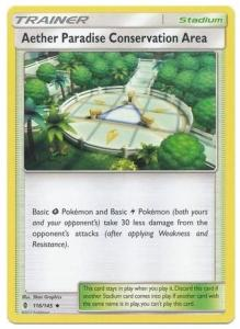 SM Guardians Rising, Aether Paradise Conservation Area - 116/145 - Uncommon