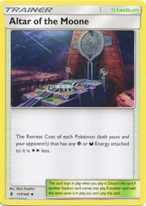 SM Guardians Rising, Altar of the Moone - 117/145 - Uncommon
