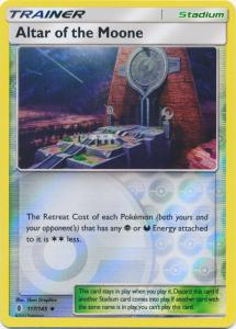 SM Guardians Rising, Altar of the Moone - 117/145 - Uncommon Reverse Holo