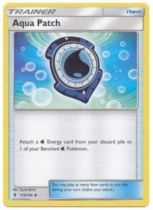 SM Guardians Rising, Aqua Patch - 119/145 - Uncommon